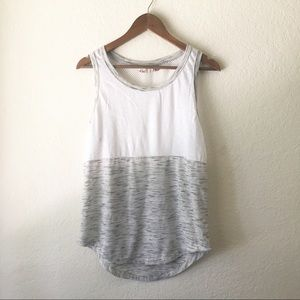 Muscle Tank SO L Mesh Heathered Gray Athleisure